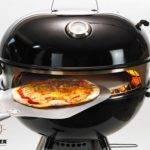 Moesta-BBQ Smokin' PizzaRing für Kugelgrill